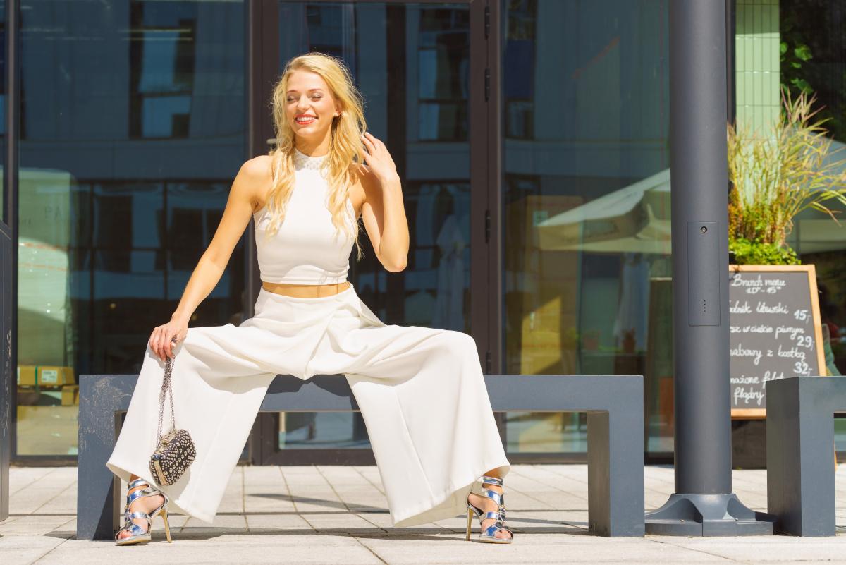 Spodnie damskie i inne części eleganckiej garderoby